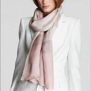 Burberry mega check mulberry silk scarf or a wrap
